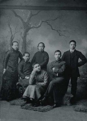 Wang Jingwei and other members of the assassination squad Fang Junying, Zeng Xing, Chen Bijun, Li Zhongshi and Huang Fusheng
