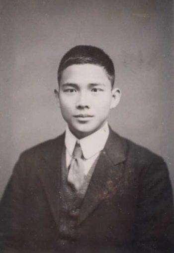 Wang Jingwei photographed in 1910