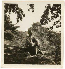 Wang Jingwei at age 60, in Nanjing